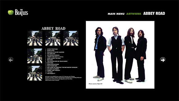 The Beatles Abbey Road gallery