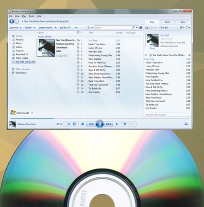 How to open the registered CD playing application on Windows